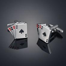 High quality poker Cufflinks French shirt Cufflinks pocket Cufflinks