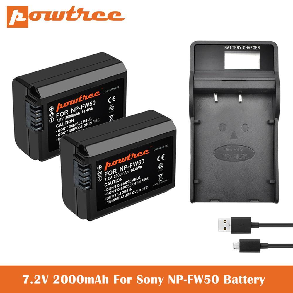 NP-FW50 baterías + cargador para Sony A6400... DSC-RX10 IV DSC-RX10 III DSC-RX10...