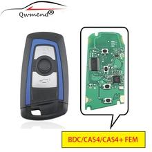3 кнопки для ключа BMW BDC/CAS4/CAS4 + FEM Автомобильный Дистанционный ключ для BMW X5 X6 F20 F21 F46 5 Series Автомобильный ключ 315/433/868 МГц