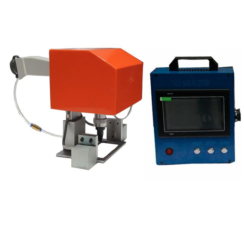 Маркировка серийных номеров на металле CNC пневматическая гравировальная машина цены