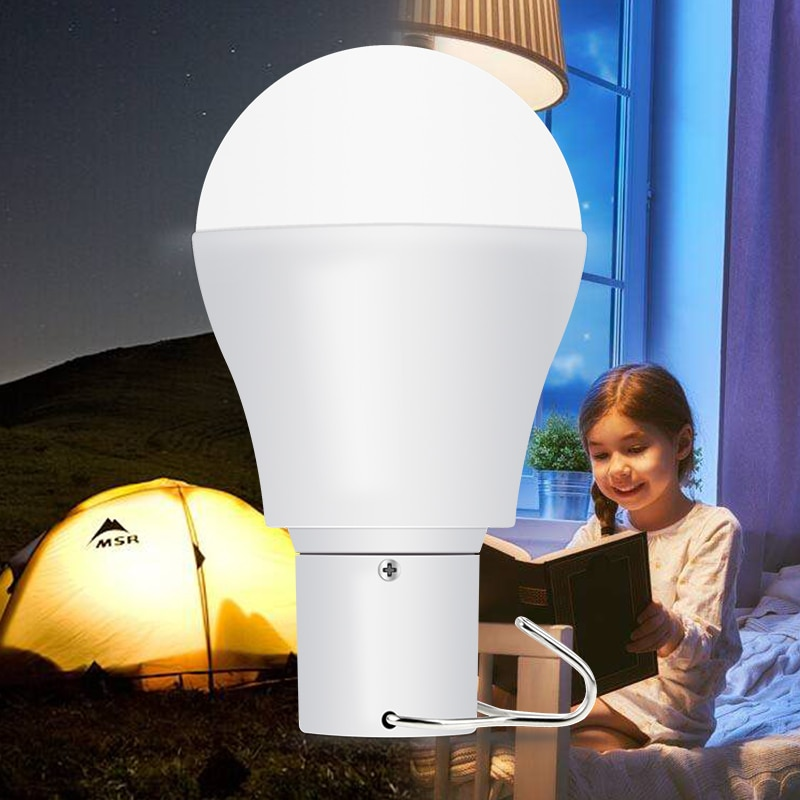 doxa 220v 30w e27 usb smart rechargeable led bulb ampoule hunting energy saving outdoor camping light emergency lamp Solar Light LED Outdoor Camping Portable Bulb 15W Camping Lamp LED Solar Energy Ampoule Rechargeable Hanging Light Garden Bulb
