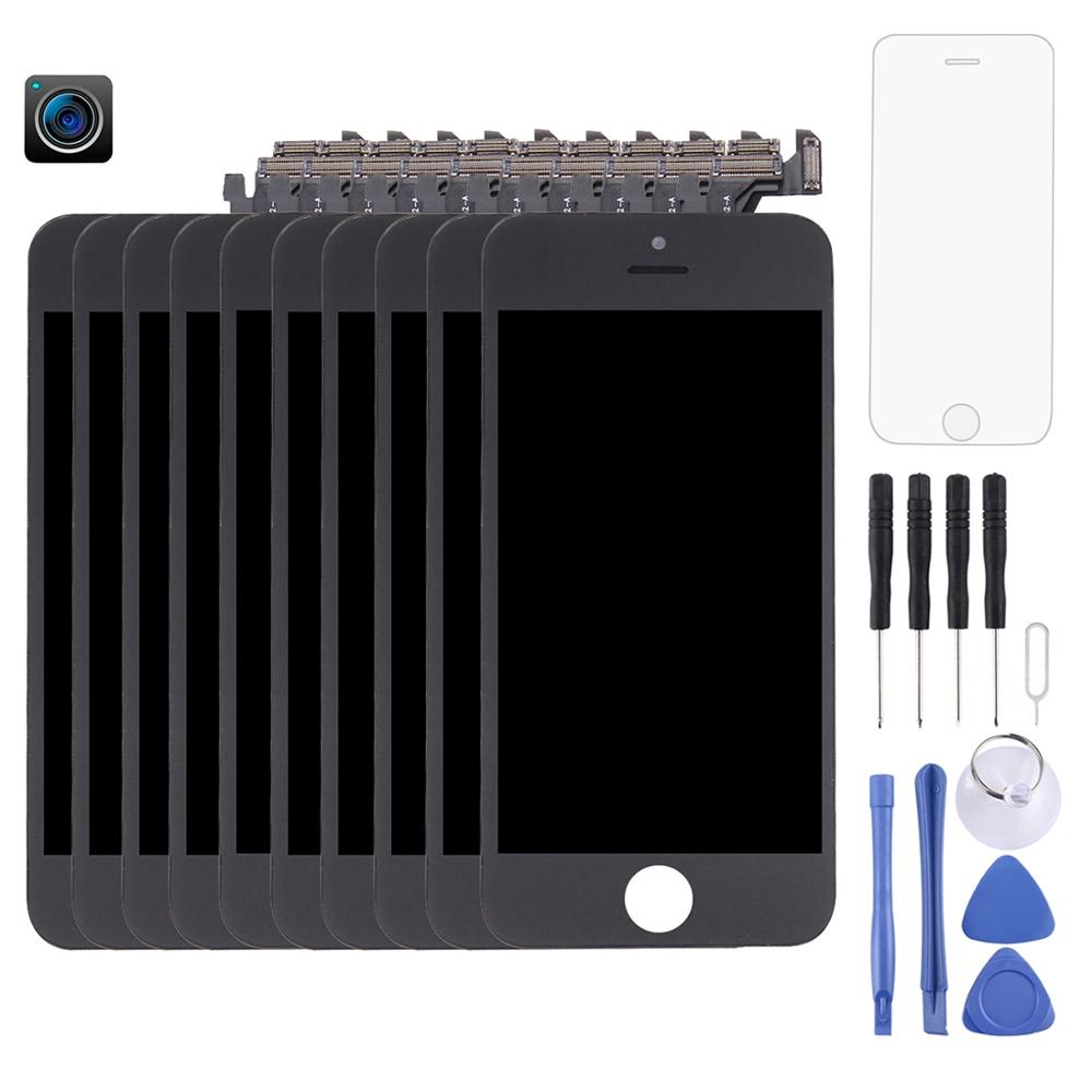 10-pcs-lcd-screen-and-digitizer-full-assembly-with-front-camera-for-iphone-5