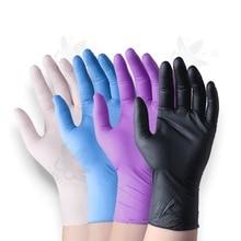 100 pièces/boîte gants de tatouage jetables fournitures de tatouage imperméables gants Kits de Machine doigts protecteur Latex accessoires Non toxiques
