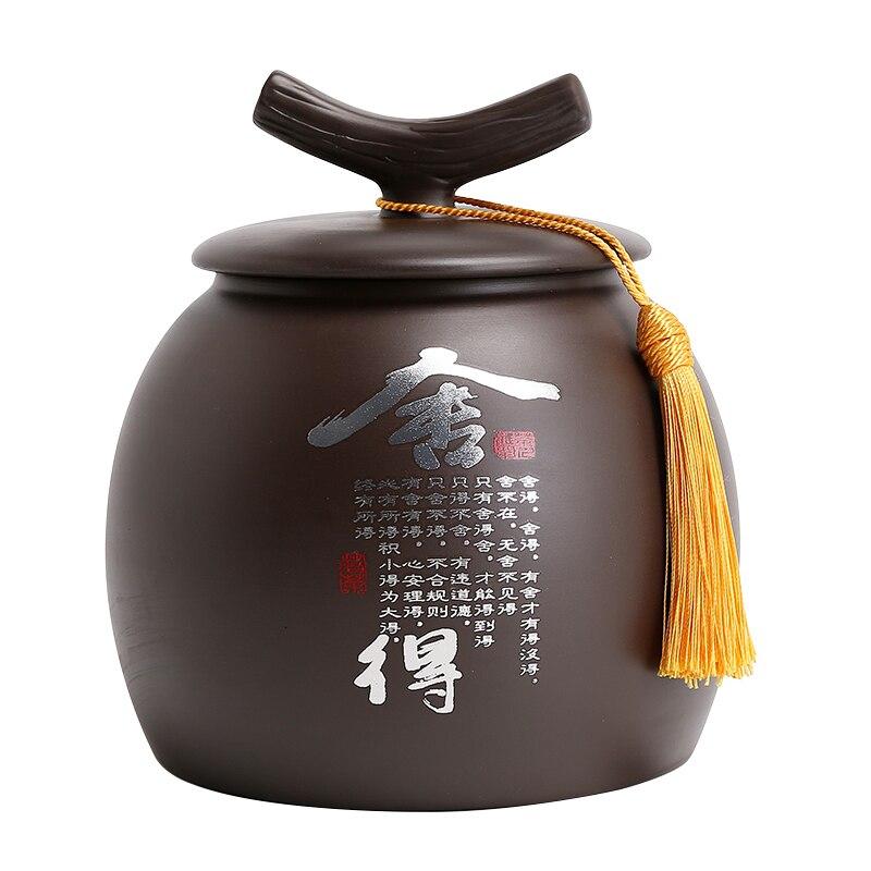 Tea Organizer Coffee Container Ceramic Storage Jar Tea Leaves Container Caddies Cajas De Almacenamiento Ceramic Tea Jar AB50CY