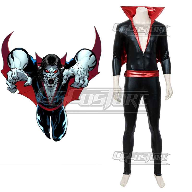Anime miedo Morbius Cosplay traje de vampiro mono elástico medias héroe de película Halloween Navidad envío gratuito CG796ZS