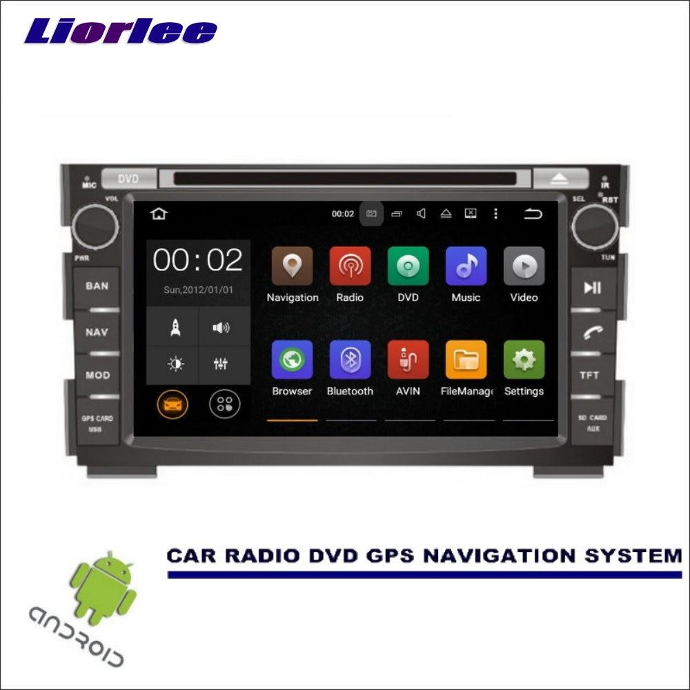 Liorlee para Kia Ceed 2006-2012 Wince/Android navegación Multimedia de coche sistema de CD reproductor de DVD GPS Navi Radio pantalla HD ESTÉREO