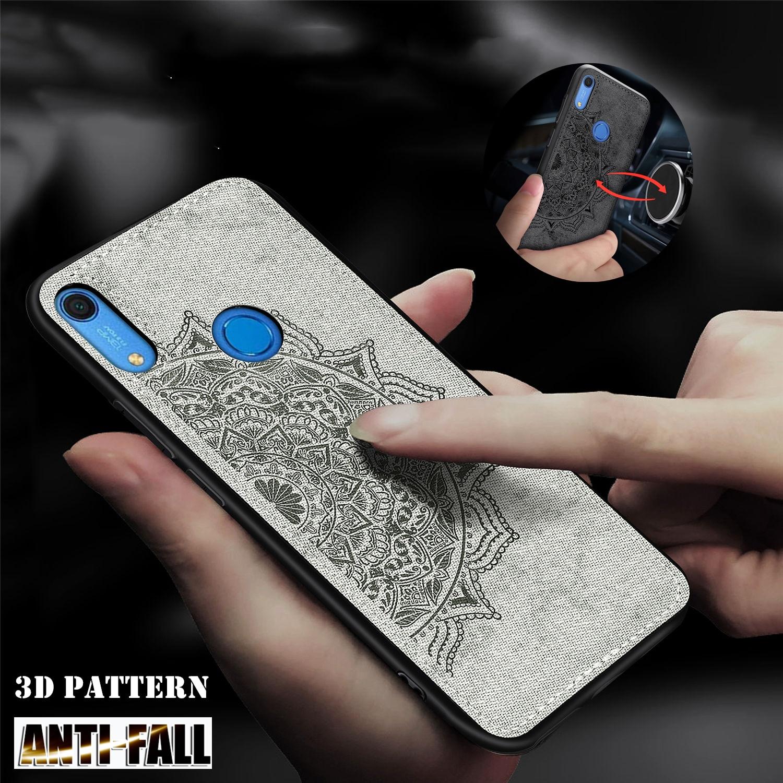 Funda a prueba de golpes para Huawei P40 P30 Lite E Pro Y9S patrón 3D imán cubierta para Honor 8A Prime 10i 8S 20 10 Lite 7A 7S 9X