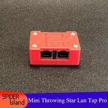 Throwing Star LAN Tap 1.5 Network Packet Capture Mod Tool 100% Original Replica Monitoring Ethernet Communication analysic