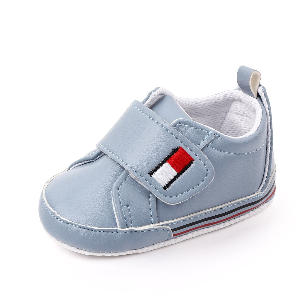 Spring Autumn Baby Boy Shoes First Walkers PU Moccasins Casual Soft Sole Infant Newborn Toddler Crib Shoes Antiskid Waterproof