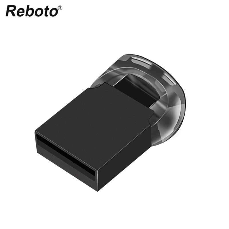 Reboto Mini USB Flash Drive 16GB 32GB 64GB Pen Drive U Stick de memoria 2G 4GB 8GB pequeño U disco USB 2,0 Pendrive