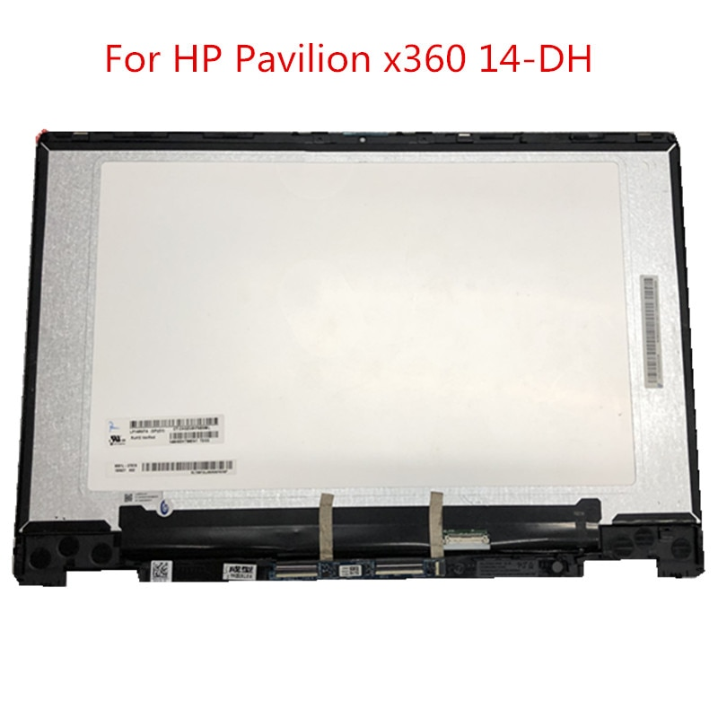 محول الأرقام بشاشة تعمل باللمس للكمبيوتر المحمول ، حامل شاشة LCD بإطار ، بديل لجهاز HP Pavilion x360 14-DH 14-dh0706nz