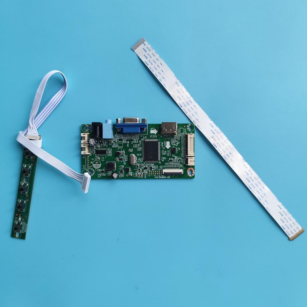 كيت ل N156BGA-EB2/EA2/EA3/EB3/E53 تحكم مجلس محرك LCD LED HDMI-متوافق VGA شاشة EDP 1366X768 عرض لوحة