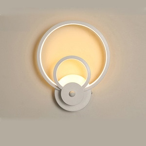 Simple and Modern LED Wall Lamp for home Nordic Bedroom Bedside Hotel Guest Room Study