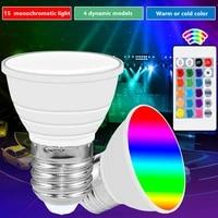 led spot light 2835 e27 e14 led bulb gu10 led lamp 110v mr16 corn light bulb 220v rgb lamp 5w remote smart light