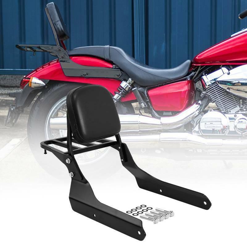 Respaldo de motocicleta Sissy Bar W/portaequipajes para Honda Shadow Spirit 750 VT750C2 2007-2014 VT750C2B 2010-2015