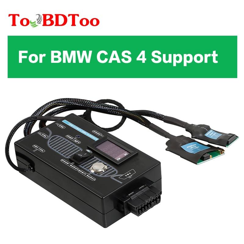 Nuevo tipo para BMW CAS4 CAS4 + plataforma de prueba para BMW CAS 4 soporte para plataforma de prueba de programación de clave externa