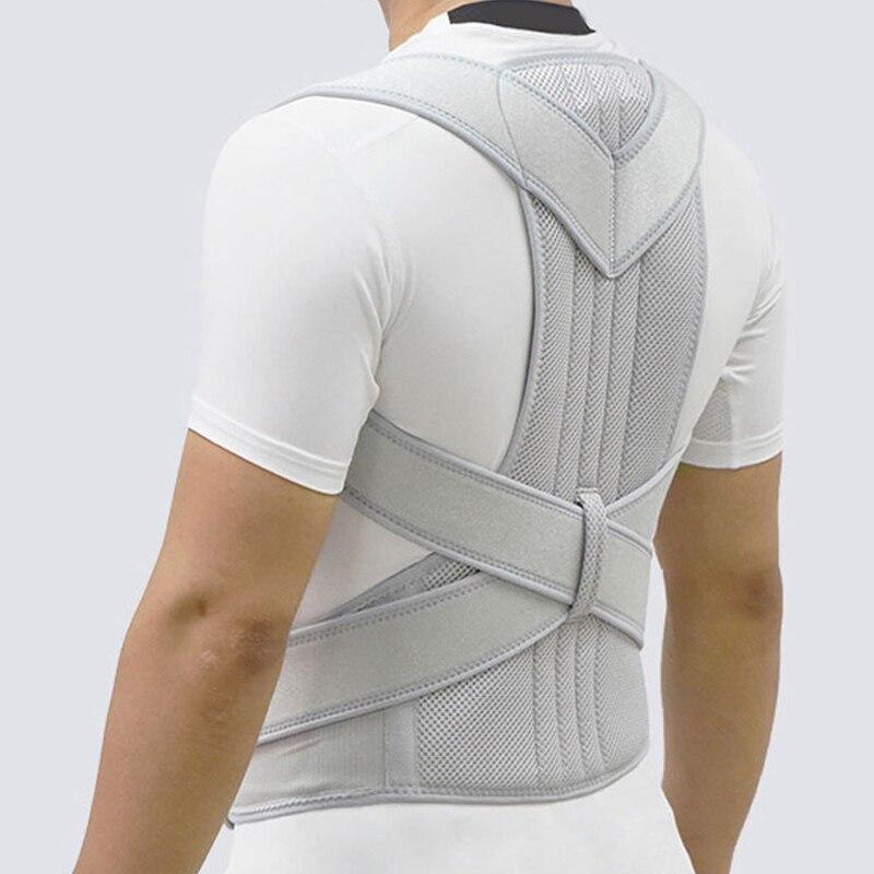 Femmes hommes Posture correcteur scoliose dos orthèse colonne vertébrale Corset ceinture épaule thérapie soutien mauvaise Posture Correction ceinture