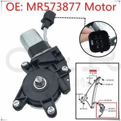 Novo motor do regulador da janela dianteira esquerda mr573877 para mitsubishi outlander 03-06 2.4l