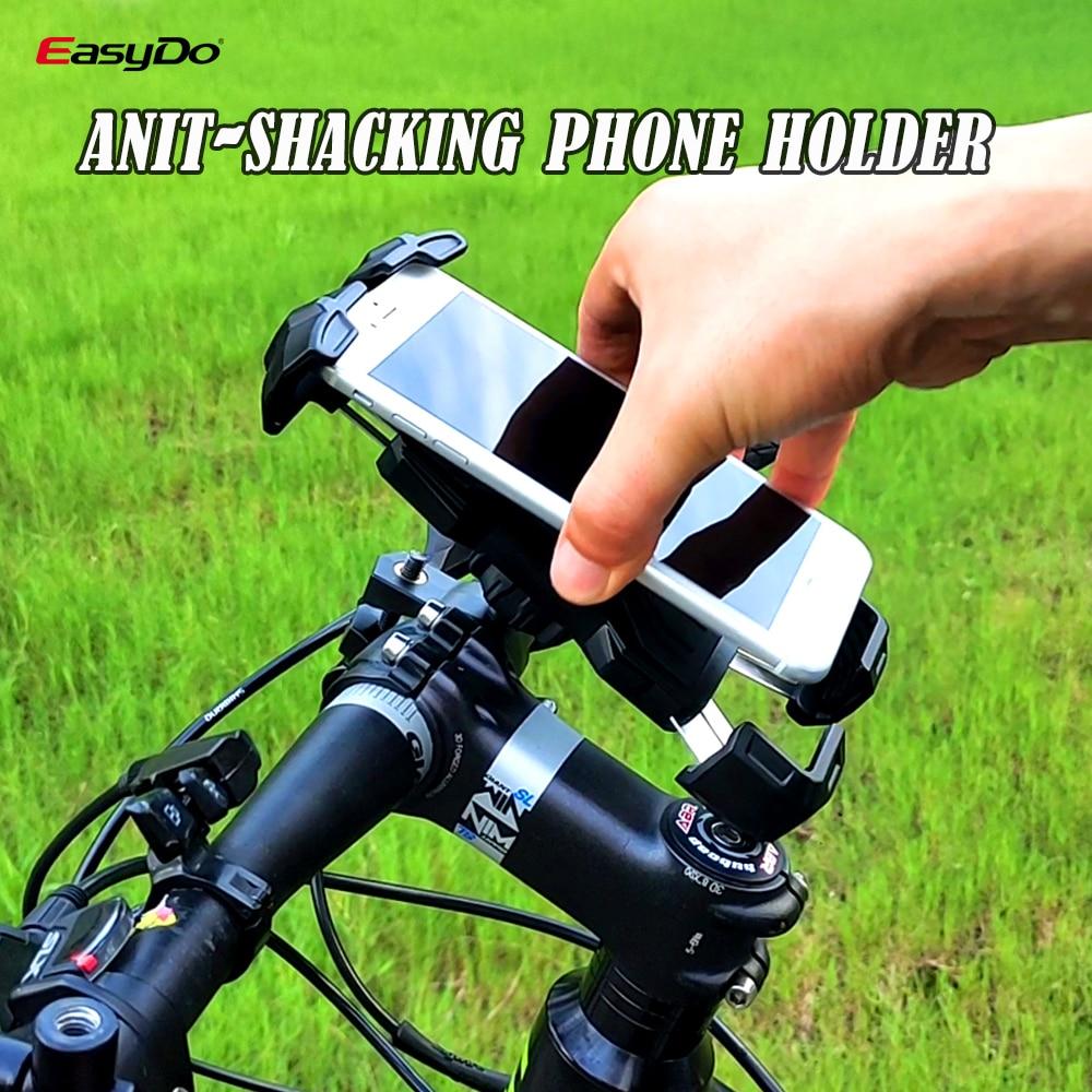 Bike Phone Holder Universal Scooter Cycling Phone Holder Handlebar Anit-Shake Navigation For iPhone Huawei Bike accessories