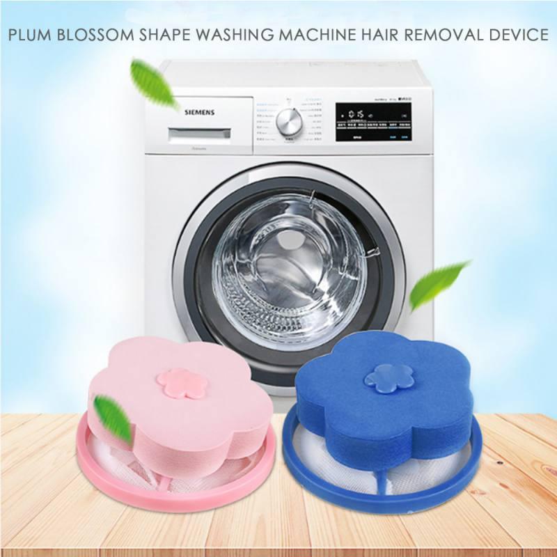 Bolsa de filtro reutilizable para el pelo, bolsa de red para lavar, bolsa de trampa de malla de pelusa flotante, utensilio doméstico