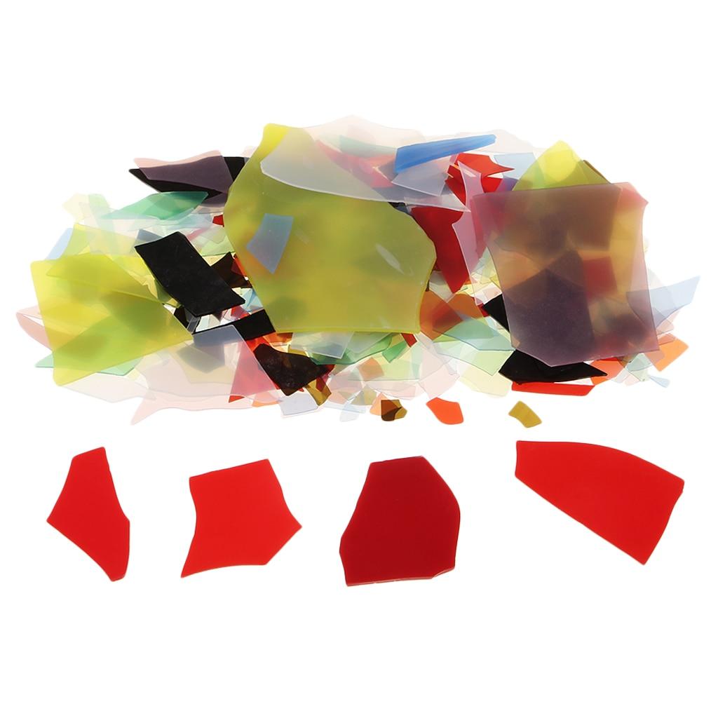 28 г разноцветные печи конфетти стеклянные чипы 90 COE цветное стекло для микроволновой печи Fusing поставка DIY аксессуары для изготовления ювелирных изделий