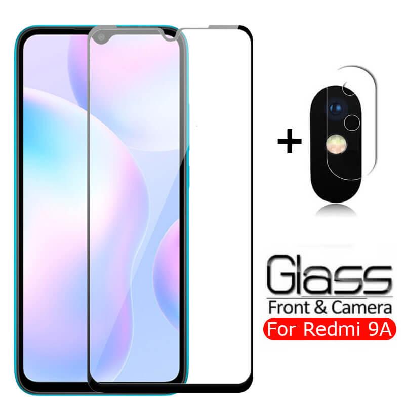 En Xiomi Redmi 9A, cristal protector para Xiaomi Redmi 9C, cristal templado para cámara, película protectora de pantalla Xaomi Redmi9A A9 9 A C