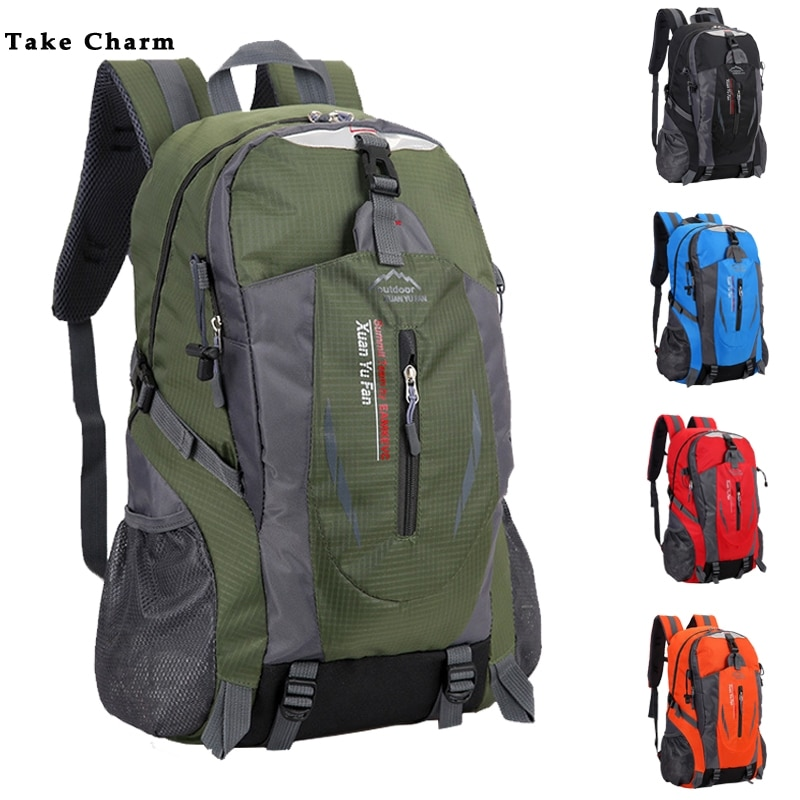 New Men Travel Backpack Nylon Waterproof Youth sport Bags Casual Camping Male Backpack Laptop Backpa