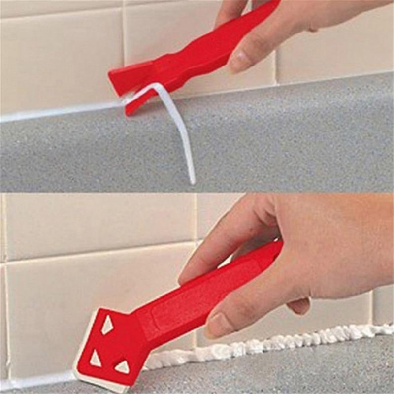 Дропшиппинг силиконовый стеклянный скребок для цемента инструмент герметик для очистки пола плитка для очистки грязи инструмент лопатка д...