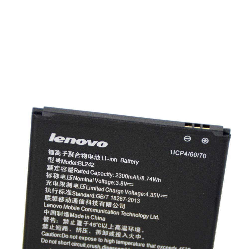 20pcs/lot Original Battery BL242 For Lenovo K3 K30-W K30-T A6000 A3860 A3580 A3900 A6010 A6010 Plus Phone batteria 2300mAh enlarge