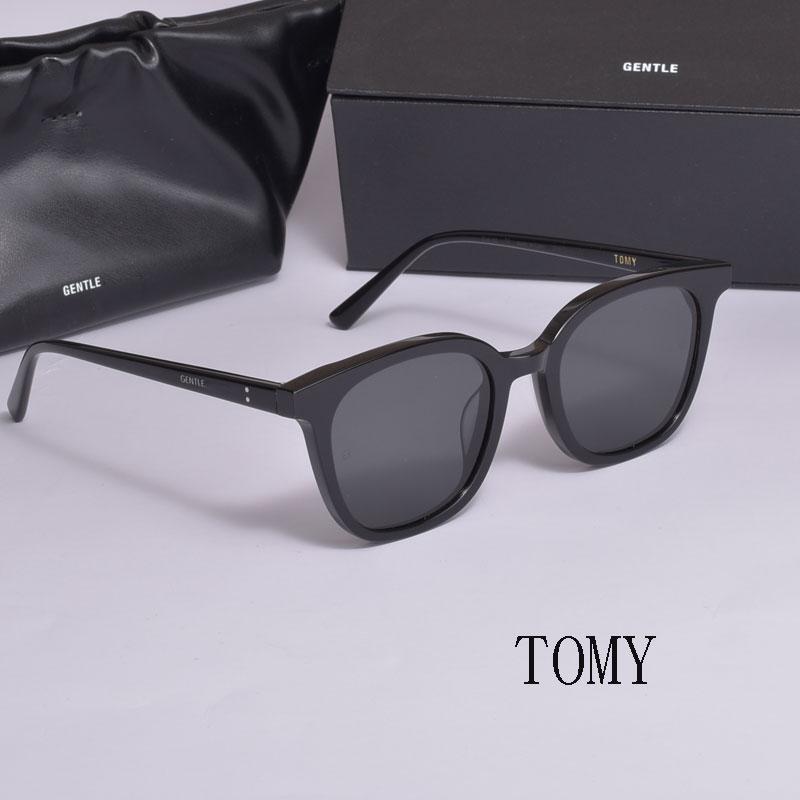 نظارات شمسية لطيفة بتصميم كوري من علامة تجارية لعام 2021 نظارات شمسية للرجال مستقطبة UV400 مستقطبة للوجه صغيرة بصندوق أصلي