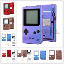 Мягкий чехол с рисунком для Game Boy Pocket с объективом для экрана и кнопками портативная консоль в комплект не входит