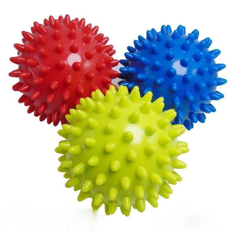 Hedgehog Massage Yoga Ball Deep Muscle Relaxation Plantar Fascia Fitness Ball Hand Plantar Acupoints Meridians Equipment 07JW122