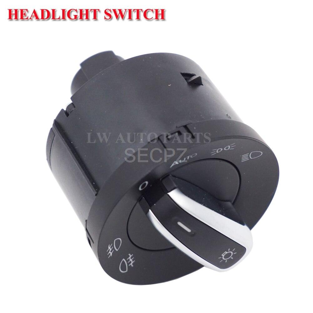5ND941431A faro luz interruptor de Control para VW Caddy Tiguan Touran Golf MK6 Jetta MK5 VW Passat B6 3C