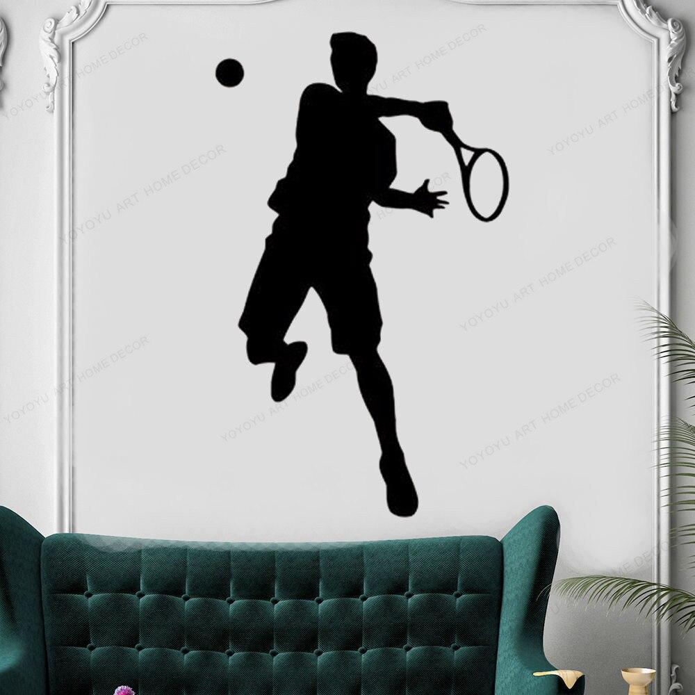 Tênis de parede decalque decoração da sua casa tênis decoração da parede tênis adesivo vinil para o quarto dos meninos removível arte da parede mural hj661