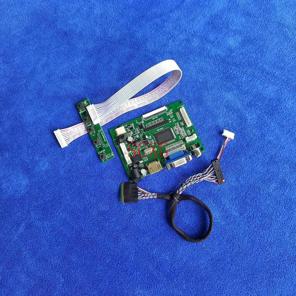 كمبيوتر محمول AV VGA HDMI متوافق LED 60Hz LVDS 40 دبوس ل HSD101PFW2/HSD101PFW4 1024*600 لتقوم بها بنفسك عدة شاشة الكريستال السائل تحكم محرك المجلس