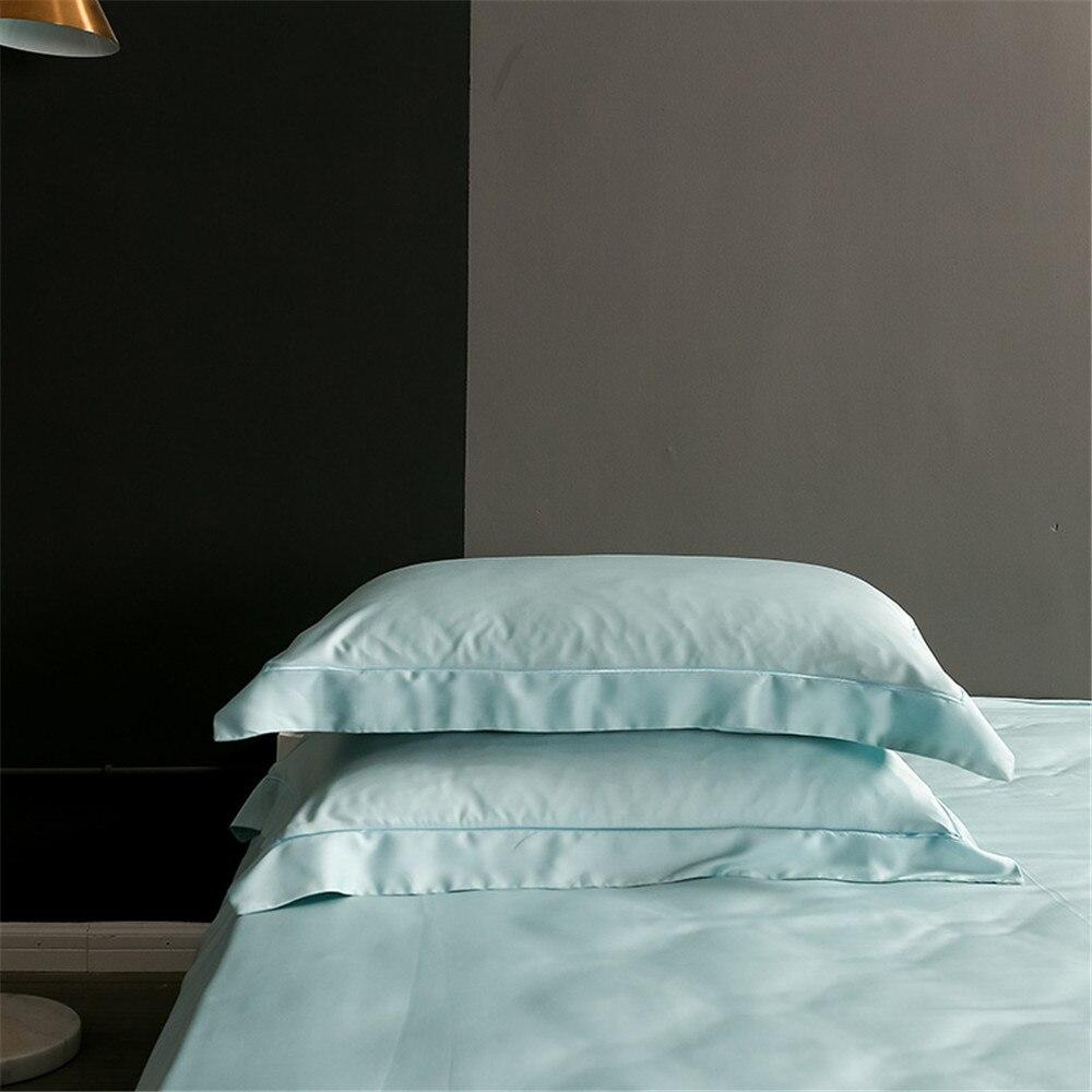 Lofuka Top Grade 100% Silk Bedding Set Nature Beauty Duvet Cover Queen King Flat Sheet Bed Linen Pillowcase For Sleep Bed Set
