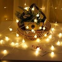 LED Cerise Boule Guirlandes Lanterne De Camping 10M Interieur Lumieres Lumiere Dambiance Deco Maison Eclairage Interieur Bouchon A Piles