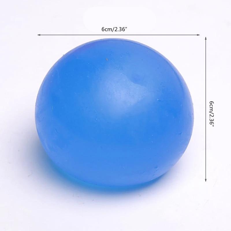 5Pcs/Set Push Bubble Fidget Toys Rainbow Creative Colorful Ball Decompression Toy Kids Adult Stress Ball Target Sensory Outdoor enlarge