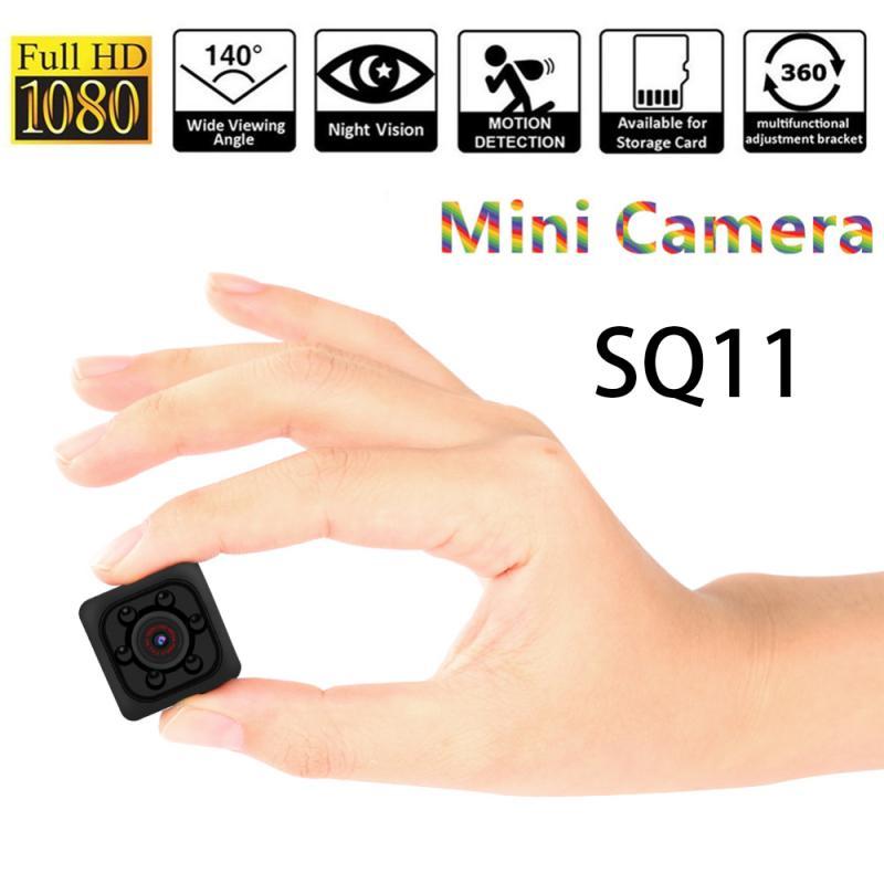 SQ11 Night Vision Camcorder Motion DVR Micro Camera Mini Camera HD 1080P Sensor Sport DV Video Small Camera Cam Car DVR Camera