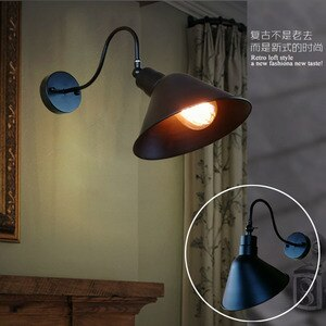 loft mirror light light wood corridor  bedroom  bedside wall lights for home home deco