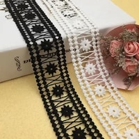 bilateral embroidery lace high quality hollow water soluble milk silk barcode lace clothing diy accessories
