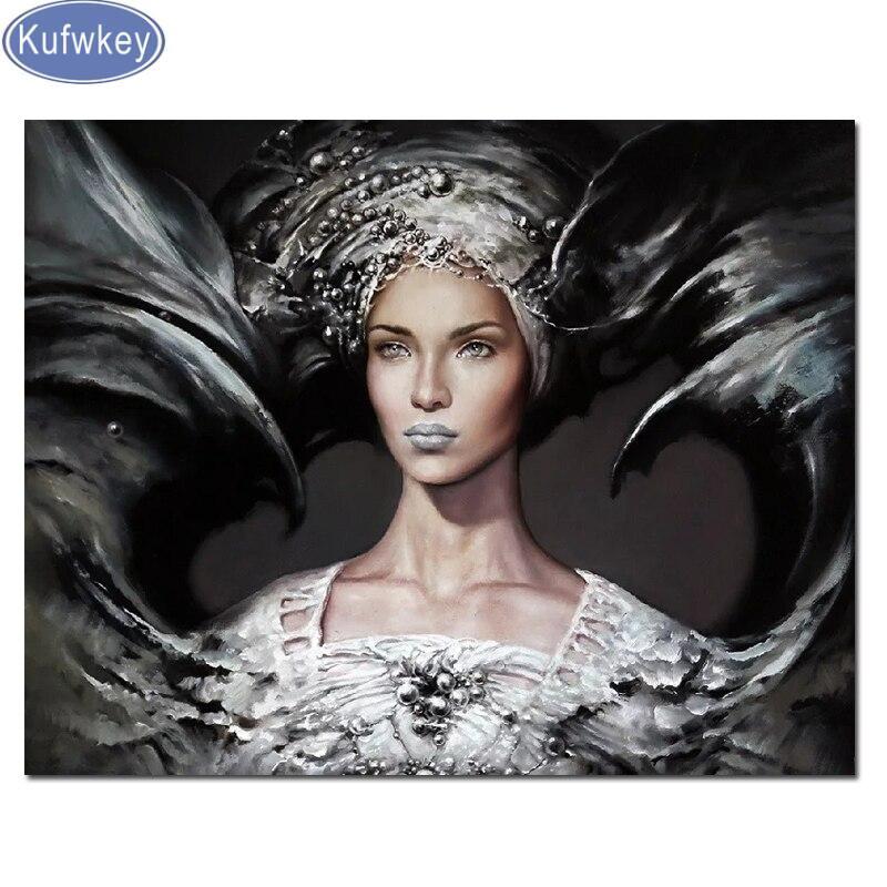 5d diamante pintura sexy Señora recién llegado mosaico de diamantes Kit de punto de cruz accesorios de retrato bordado de diamantes para decoración del hogar