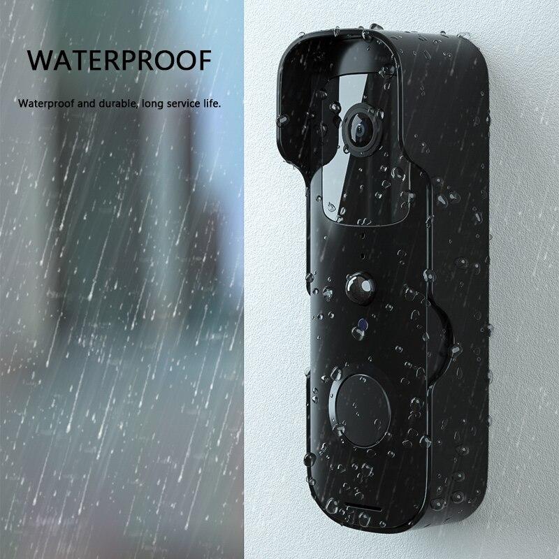 Tuya Smart Wireless Video Doorbell Digital Visual Intercom WIFI Door Bell Waterproof Electronic Doorman Home Security Camera enlarge