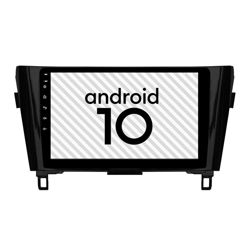 Brand New Car Android 10.0 gps High performance head unit for Nissan X-Trail Qashqai 2din radio Bluetooth Internet navigation