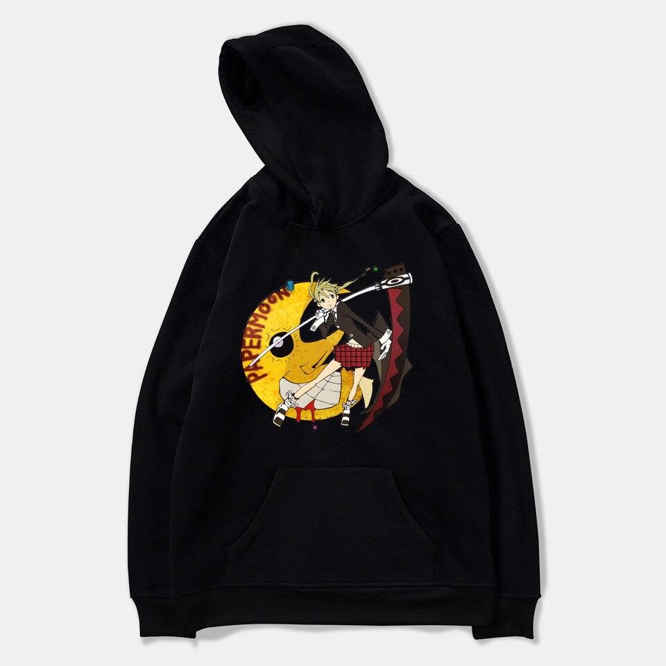 Soul Eater Hoodies Couple Fashion Hoodie Men Women Sweatshirt Autumn Basic Funds Cotton Hooded Pullo