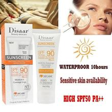Disaar SPF 90 Body Sunscreen Whitening Sun Cream Sunblock Skin Protectiion Cream Anti-Aging Oil-control Moisturizing