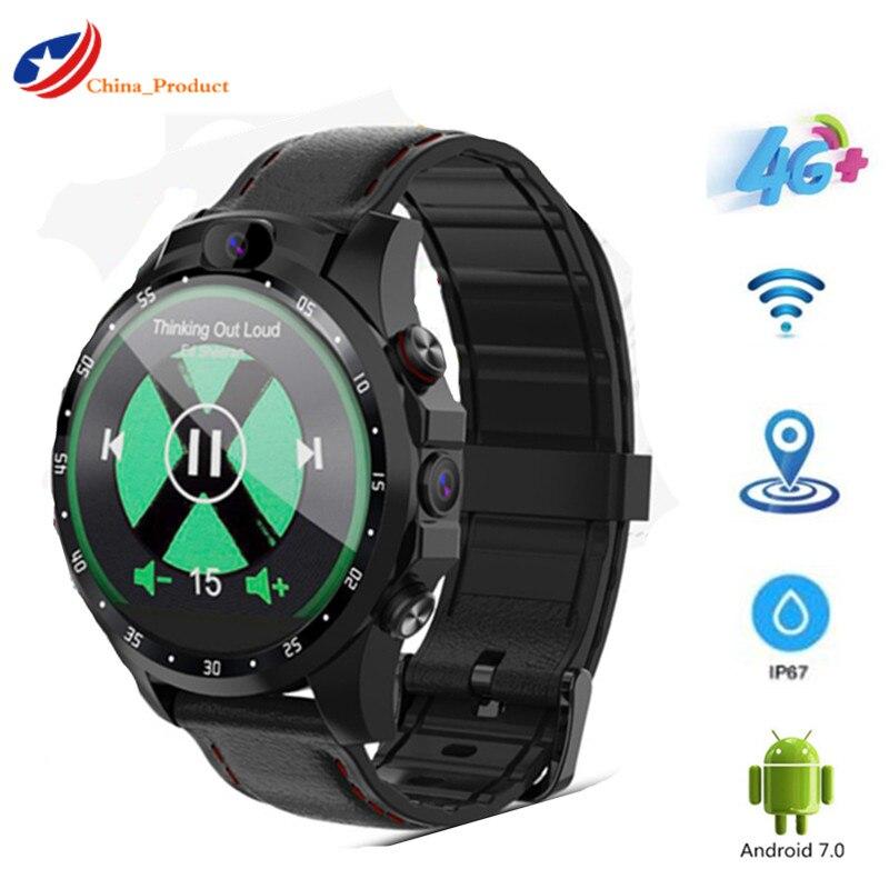 V9 SmartWatch Android phone 3gb+32gb 5.0MP+5.0MP dual Cameras 800 mAh Battery GPS sport Smart watch Men IP67 waterproof pk X360