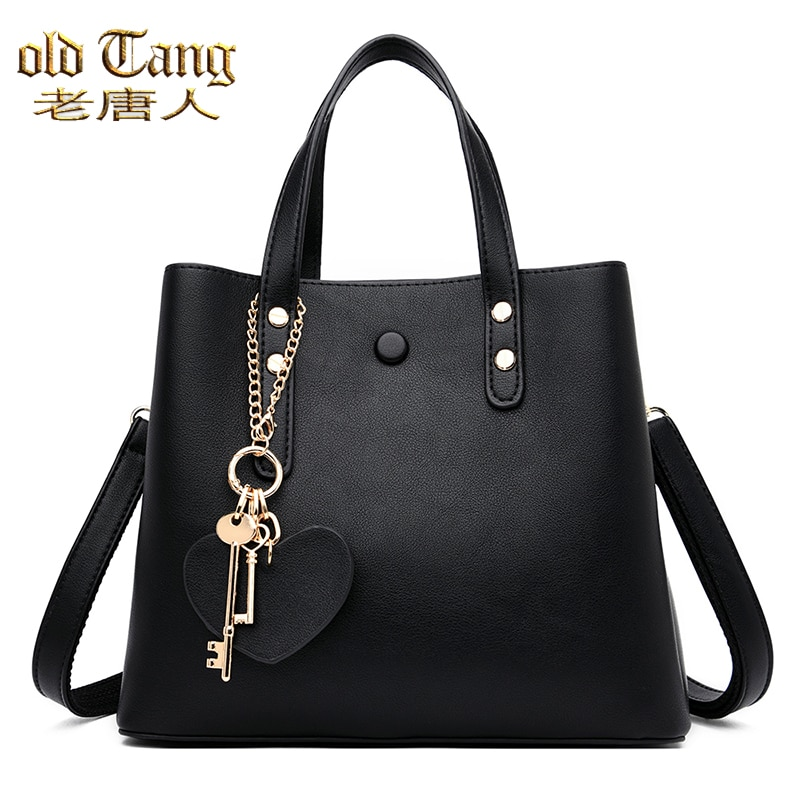OLD TANG Hand Bags For Women 2020 High Quality Fashion Casual Concise Totes Luxury Shoulder Designer