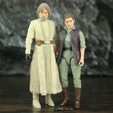 "Star Wars Old Luke JD Master & General Leia Organa 6"" Action Figure Original Black Series Collectable Toys Doll"