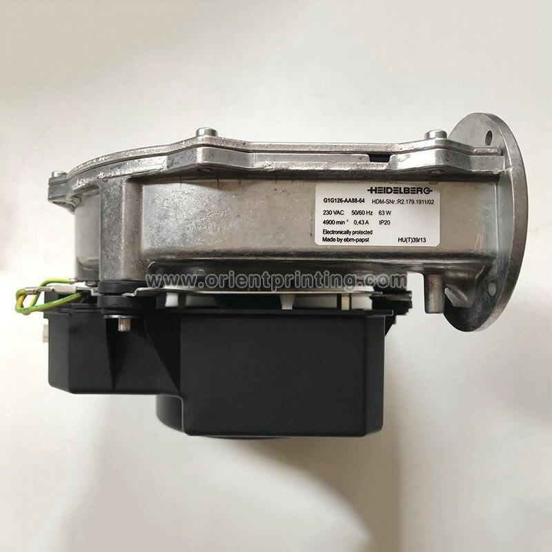 DHL شحن G1G126-AA88-64 هايدلبرغ الصحافة اكسسوارات SM52 PM52 آلة مروحة R2.179.1911/02 تعويض آلة أجزاء
